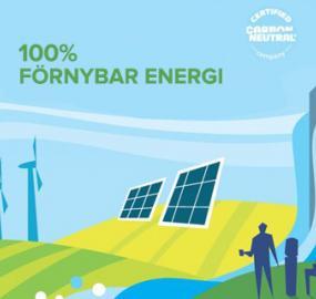 Vi är CarbonNeutral® och vi är stolta över det!