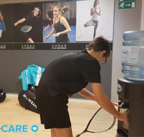 Eden Springs sponsrar Europas största ungdomstävling i squash