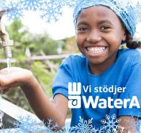 Eden Springs donerar till WaterAid